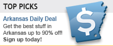 Top Picks - Arkansas Daily Deal