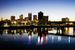 A last look at the pre-apocalyptic downtown Little Rock skyline.