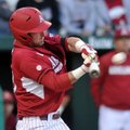 Arkansas catcher Jake Wise and the Razorbacks will face Ole Miss or Kentucky at 9:30 a.m. Wednesday ...