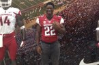 Rawleigh Williams III became Arkansas' 10th commitment for the class of 2015 in June.
