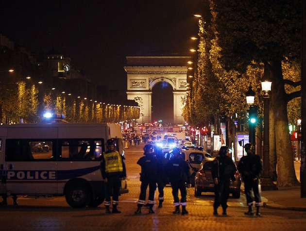 police-seal-off-the-champs-elysees-in-paris-after-a-gunman-targeted-police-officers-thursday-near-a-subway-station