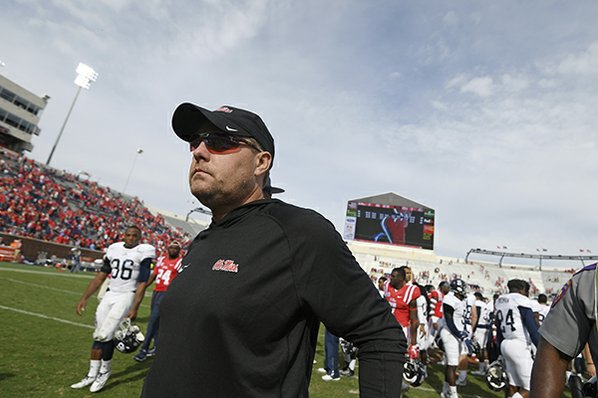 Hugh Freeze declines comment on suit, admits Ole Miss created 'adversity'