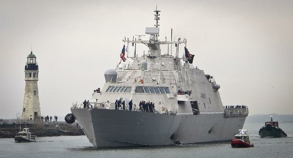 Navy Commissions Newest Littoral Combat Ship USS Little Rock (LCS 9)