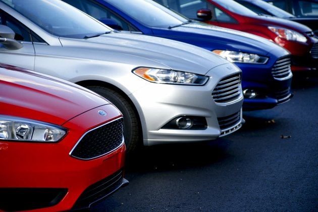 in-this-nov-19-2015-photo-a-row-of-new-ford-fusions-are-for-sale-on-the-lot-at-butler-county-ford-in-butler-pa