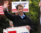 Cotton campaigns in LR on Election Day