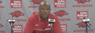 Mike Anderson post Red-White game press conference