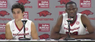 Dusty Hannahs, Moses Kingsley recap Arkansas' 78-62 win over Stephen F. Austin