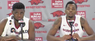 Daryl Macon and Trey Thompson recap Arkansas' 98-80 win over Ole Miss