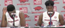 Trey Thompson and Jaylen Barford recap Arkansas' 86-77 win over Texas A&M