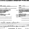 Maurice Clemmons' clemency documents