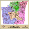 Washington County JP and Constable Districts