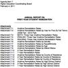 Remediation Report 2011