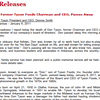 Press Release from Tyson Foods