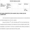 Fayetteville Man Arrested for Child Pornography