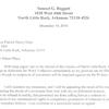 Baggett resignation letter