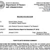 DFA Revenue report for December 2009