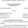 Little Rock School Districts's motion to enforce 1989 settlement agreement