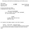 Draft of prison sentencing legislation