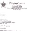 Letter of suspension for deputy