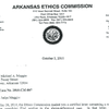 Ethics Commission ruling in Maggio case