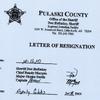 Gibbs resignation letter