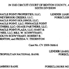 Pinnacle Point Judgement and Foreclosure