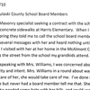 Letter sent to Pulaski County Special School Board members