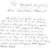 Muhammad letter on attorney
