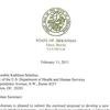 Beebe letter on Medicaid