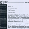 Medicaid letter to Beebe