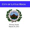 Little Rock Priority Needs