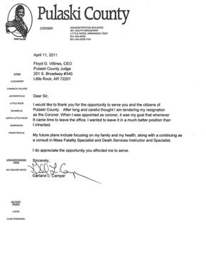 Garland camper resignation letter nwaonline garland camper resignation letter expocarfo Image collections