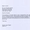 State senator letters