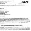 State Hospital complaint recertification letter