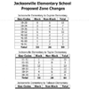 Proposed Zone Changes — Jacksonville Elementary