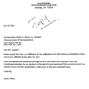 Joe White letter