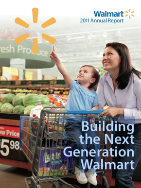 walmarts core competition Wal-mart is the largest public corporation according to the forbes global, it has been running chain of stores and warehouses nationally and internationally.