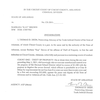 Dermott theft affidavit
