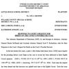 Desegregation case - State's response to recusal order