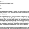 Letter from college and university leaders supporting Shane Broadway