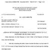 Intervenors' response to recusal order - PCSSD desegretation case