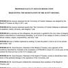 UCA Faculty Senate resolutions