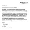 Hawker Beechcraft letter to LR employees