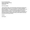 Scott Roussel resignation letter