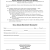 Gold Award form