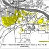 Little Rock Ward 1 storm-cleanup map