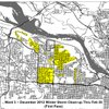 Little Rock Ward 3 storm-cleanup map