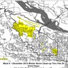 Little Rock Ward 4 storm-cleanup map