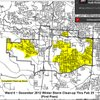 Little Rock Ward 6 storm-cleanup map