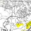 Little Rock Ward 7 storm-cleanup map